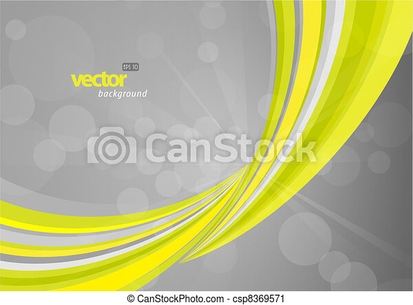 abstract, lines., groene achtergrond - csp8369571