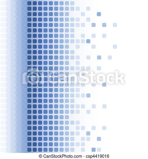 abstract, mozaïek, achtergrond - csp4419016