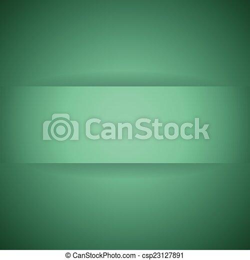 abstract, papier, groene, schaduw, achtergrond - csp23127891