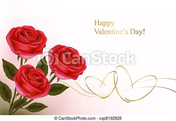 achtergrond., valentine`s dag - csp8192828