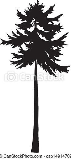 boompje, silhouette - csp14914702