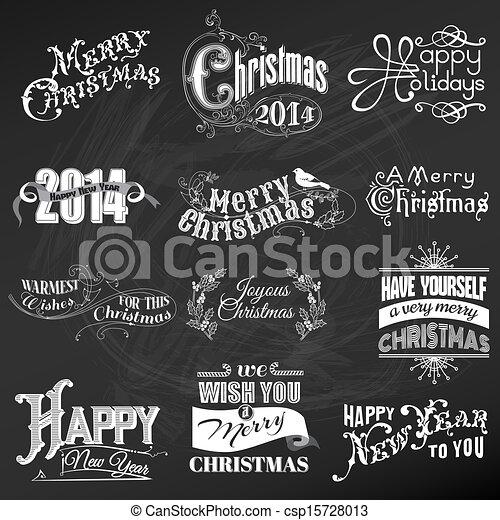 communie, versiering, calligraphic, vector, ontwerp, ouderwetse , lijstjes, kerstmis, set:, pagina - csp15728013