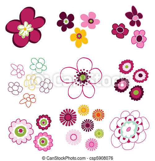 floral, bloem, communie - csp5908076