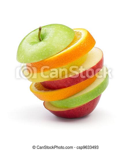 gemengde vrucht - csp9633493