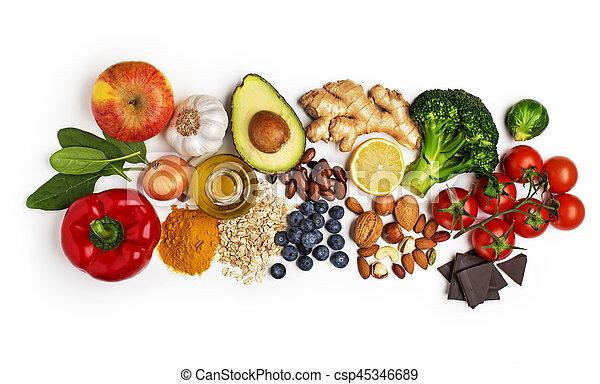 gezond voedsel - csp45346689
