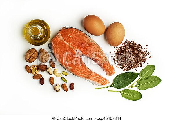 gezond voedsel - csp45467344
