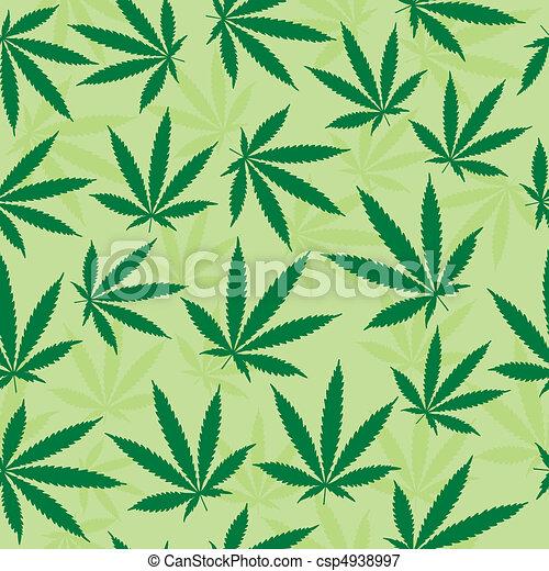 groen blad, achtergrond - csp4938997