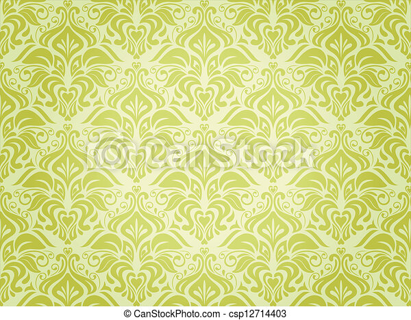 groene achtergrond - csp12714403