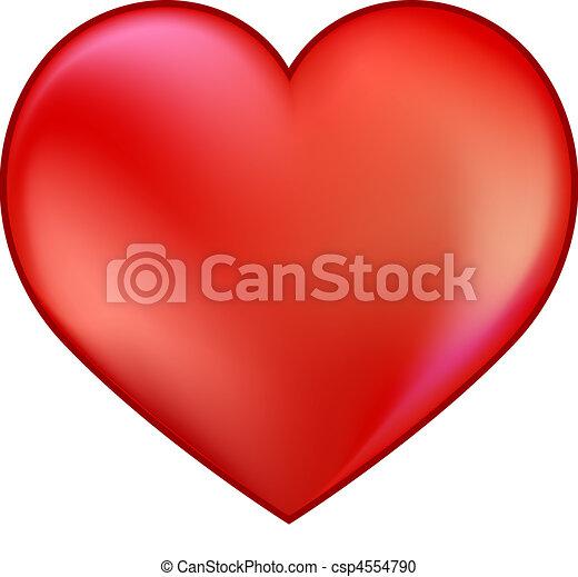 hart, rood - csp4554790