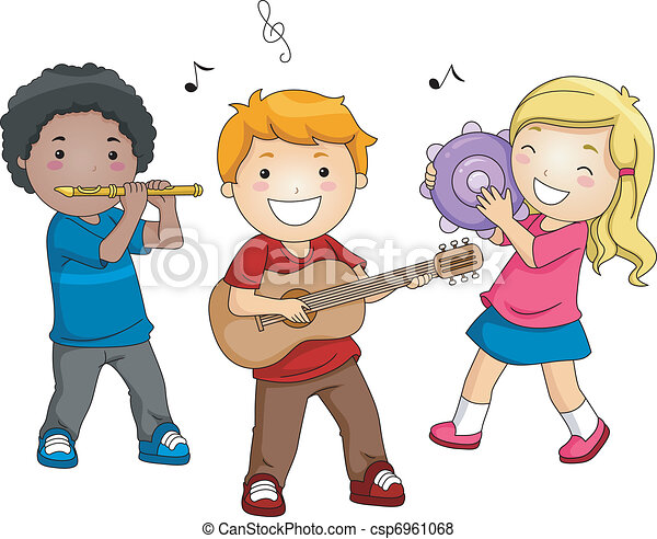 instrumenten, muziek - csp6961068
