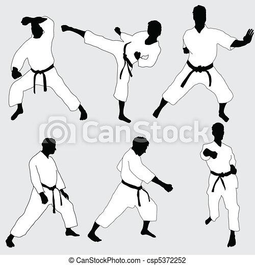 karate, pose - csp5372252