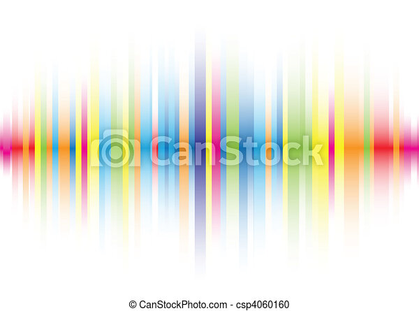 kleur, abstract, lijn, achtergrond - csp4060160