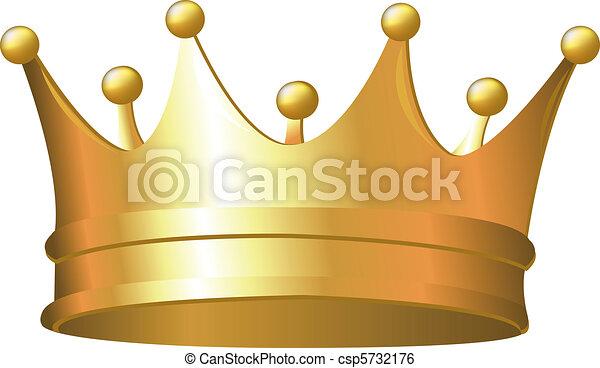 kroon, goud - csp5732176