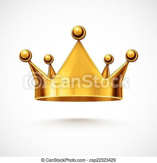kroon, vrijstaand - csp22323429