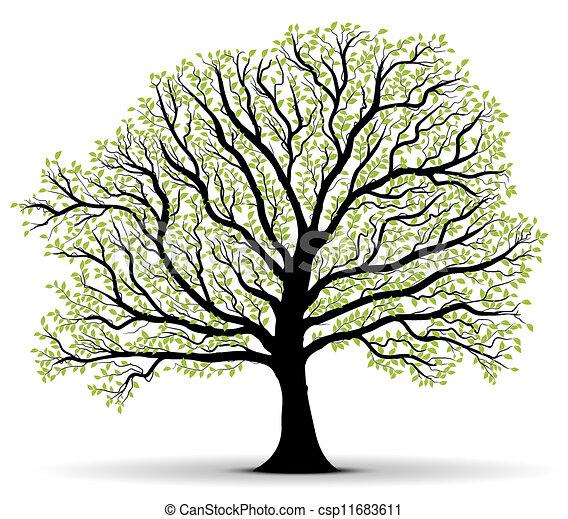 milieubescherming, groen boom - csp11683611