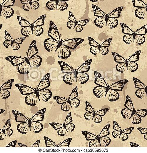model, vlinder, seamless - csp30593673
