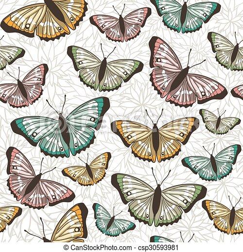 model, vlinder, seamless - csp30593981
