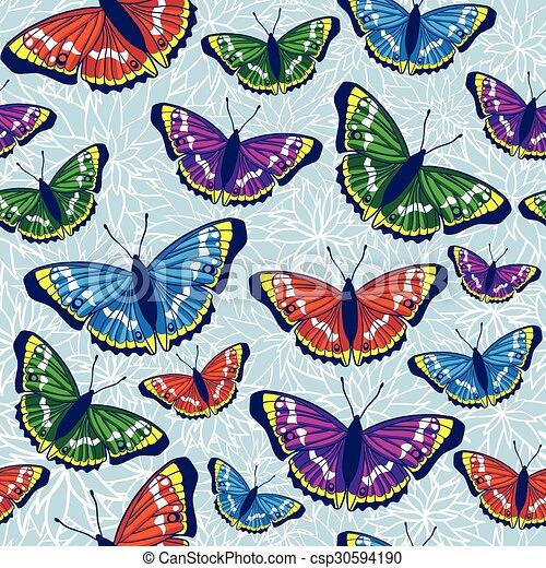 model, vlinder, seamless - csp30594190