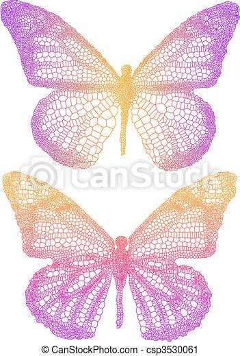 mooi, vlinder - csp3530061
