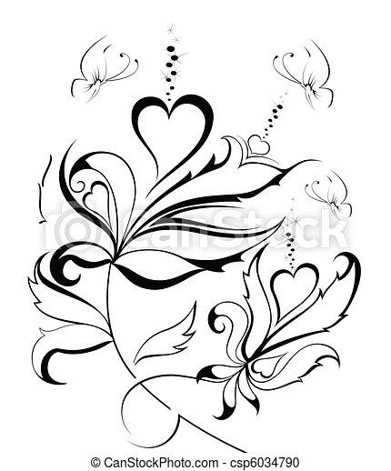 mooi, vlinder - csp6034790