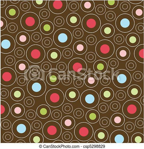 motieven, seamless, textuur, weefsel - csp5298829