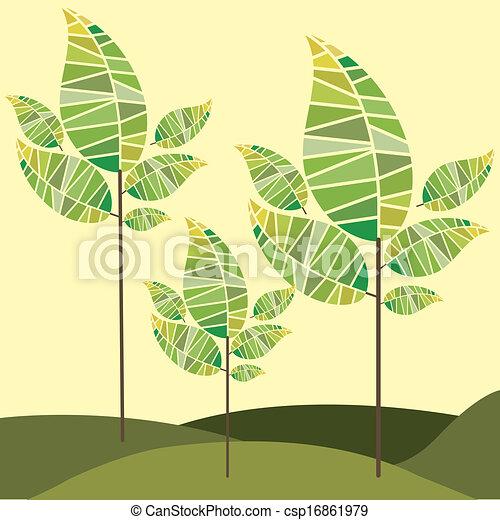 natuur, ontwerp - csp16861979