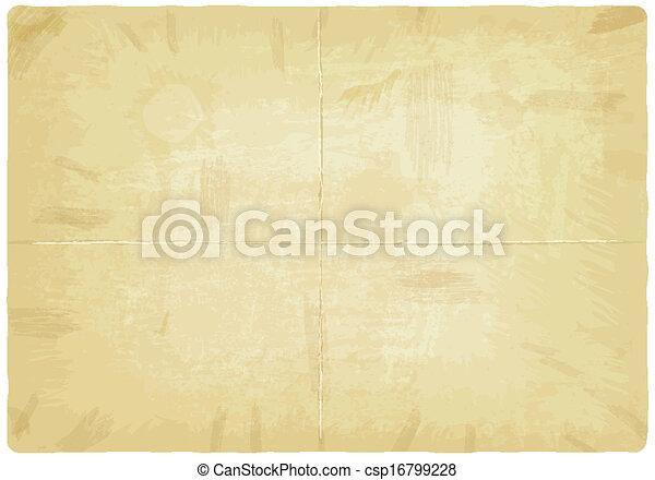 papier, oud, textuur - csp16799228