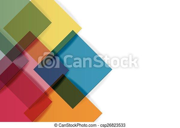 papier, plein, achtergrond - csp26823533