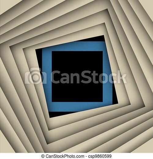 plein, papier, achtergrond, vector, frame - csp9860599