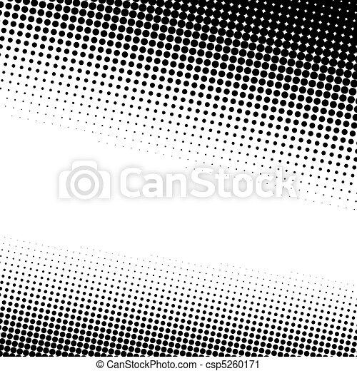 punten, textuur, halftone - csp5260171