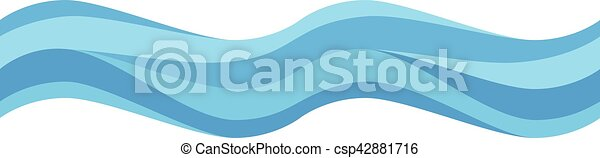 seamless, golf, blauwe  - csp42881716