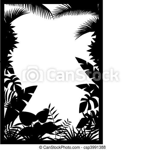 silhouette, bos - csp3991388