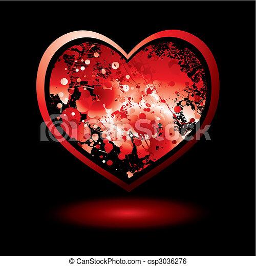 spalt, bloed, valentijn - csp3036276
