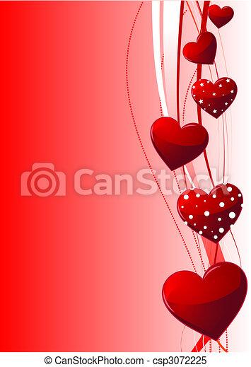 valentijn, dag, achtergrond - csp3072225