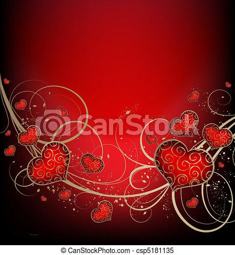 valentines, achtergrond - csp5181135