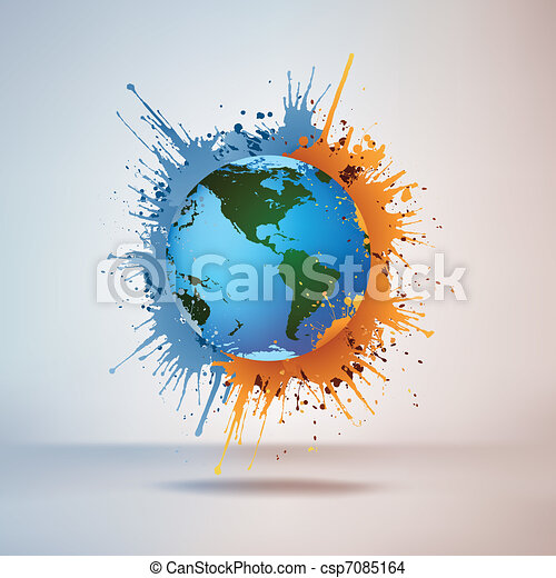 verf , globe - csp7085164