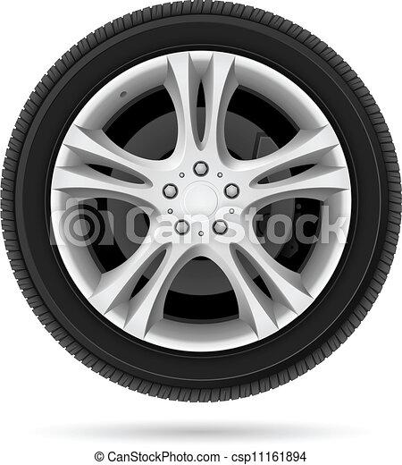wiel, auto - csp11161894